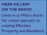 Hear Hillary on the Racio!